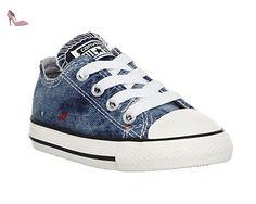 Converse, Converse ctas Ox Ash Grey - Bleu - Bleu, 26 - Chaussures converse (*Partner-Link)
