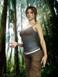 Lara Croft The beginning by JavierMicheal