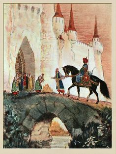 Руслан и Людмила в иллюстрациях Н. Кочергина: krambambyly