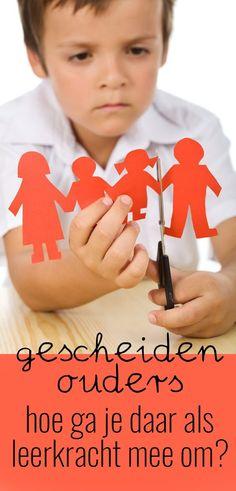 Wie nodig je uit voor een ouderavond als ouders gescheiden zijn en niet samen willen komen? Hoe ga je daar als leerkracht mee om?