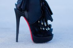I wanna be with a guy that even if I'm wearing heels like these, he's still talker than me :)