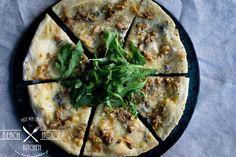 Italialaisen pizzan ABC - Beach house kitchen Beach House Kitchens, Home Kitchens, Koti, Mozzarella, Quiche, Tapas, Pizza, Breakfast, Morning Coffee