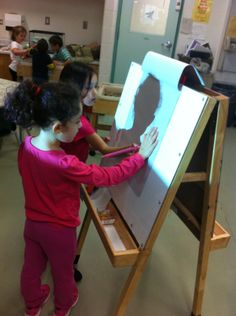 Drawing shadows, from journey together FDK