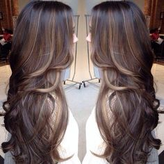 Summer hair for brunettes? Think I'm gonna go for some ombré style highlights