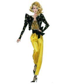 Robert Best Barbie 80's Sketch