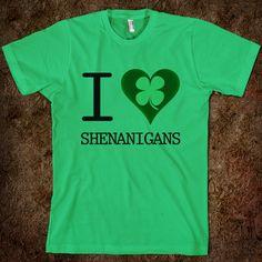 I Heart/Clover Shernanigans