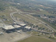 Aerial view of Jose Marti International Airport. See more pics @ http://www.airport-technology.com/projects/havana-jose-marti-international-airport-cuba/