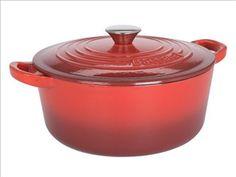Baccarat cast iro casserole :: the homeware store Cast Iron, It Cast, Casserole, Crockpot, Slow Cooker, Kitchen Appliances, Store, Diy Kitchen Appliances, Home Appliances