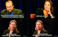 """Angelina Jolie and Brad Pitt were made for each other. 