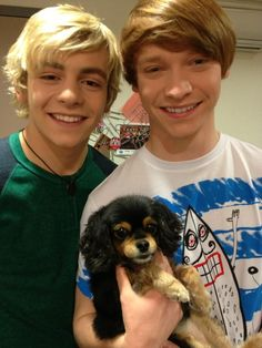 Pretty baby, you look so heavenly... with Ross Lynch and Pixie Puppy <3