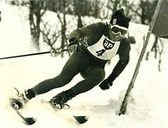 National championships (NM) in alpine skiing in Hemsedal in 1961.