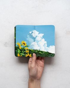Painted Sketchbook by Hannah Podury // 100 Day Project // daily art project 100th Day, Art Inspo, Character Art, Art Projects, Artsy, Vibrant, Paper Crafts, The Incredibles, Etsy Shop