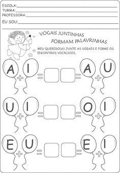 Atividade com encontro vocálico