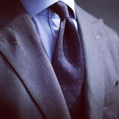 Viola Milano navy pattern silk tie