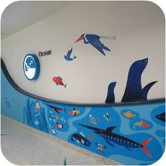 Seattle Children's Hospital uses artwork inspired by the local landscape to help patients and families navigate more easily.