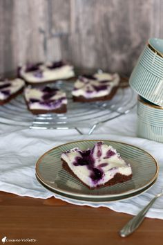 Blueberry-Cheesecake-Brownie | Cuisine Violette