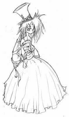 jakki's dress-sketch by Jakkithebunny.deviantart.com on @deviantART