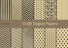 Check out Craft Digital Papers by Delagrafica on Creative Market