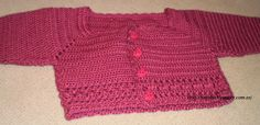 Norobe, hand made: Rebeca para bebé a crochet