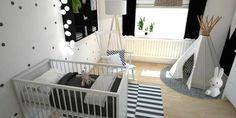 42 monochromatic color scheme for interior bedroom design 23 Baby Bedroom, Baby Boy Rooms, Baby Boy Nurseries, Nursery Room, Kids Bedroom, Nursery Decor, Baby Playroom, Baby Nursery Themes, Childrens Room Decor