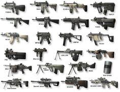 Arme primaire et secondaire