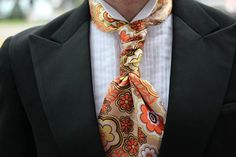 The Sterling Scott I wore to a fashion show. Check out more amazing hybrid neckties from the Sterling Scott collection and use promo code to get off the regular price. Formal Attire For Men, Men Formal, Men's Tuxedo Wedding, Wedding Groom, Man Fashion, Fashion Show, Eldredge Knot, Tie A Necktie, Groomsmen Tuxedos