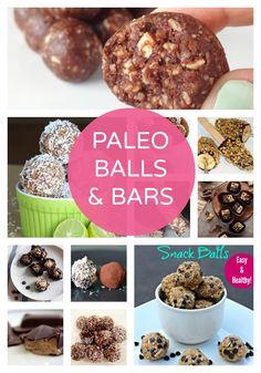 Paleo Balls & Bars | Sugar Free Glow #paleo