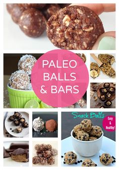 Paleo Balls & Bars | Sugar Free Glow