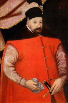 Portrait of Stephen Báthory by circle of Martin Kober, after 1583 (PD-art/old), Muzeum Pałacu Króla Jana III w Wilanowie