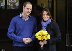 Prince William & Kate are expecting their first baby - congratulations.