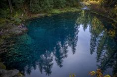 Hidden gems in Oregon: featured here is the Tamolitch Pool, McKenzie River Trail
