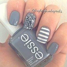 Diferentes estilos de nail art.