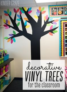 How to make vinyl trees for your classroom walls-family tree, add family pictures from students Classroom Family Tree, Family Tree For Kids, Trees For Kids, Classroom Walls, Classroom Design, Preschool Classroom, Classroom Ideas, Classroom Organization, Future Classroom