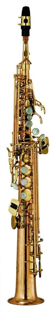 Chateau Handmade Soprano Saxophone Lacquer Finish VCH-S820LY2 #Chateau