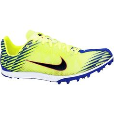 Nike Zoom Waffle XC 10 #running #spikes. The extra support at the heel makes it a cross country shoe.