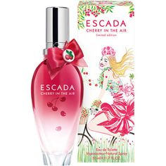 Escada Cherry in the Air - Yes please! This smells soooooo good for summer!