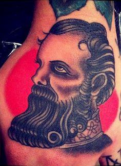 Danny Reed Tattoos - bearded man tattoo beard beards ink art idea ideas