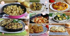 Tanti contorni veloci tutti facilissimi e gustosissimi, con le patate, le zucchine, le melanzane e tantissime altre verdure.