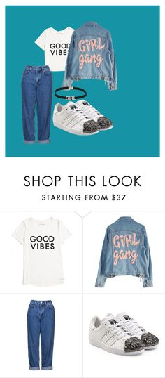 """""""Alternative"""" by yess0616 on Polyvore featuring moda, Tommy Hilfiger, High Heels Suicide, Topshop y adidas Originals"""