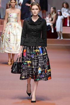 Dolce & Gabbana   Milão   Inverno 2016 - Vogue   Desfiles