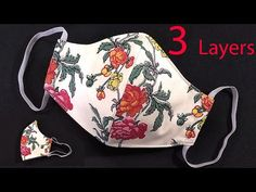 Scrap Fabric Projects, Small Sewing Projects, Easy Face Masks, Diy Face Mask, Sewing Patterns Free, Sewing Tutorials, Hand Embroidery Designs, Diy Mask, Creations