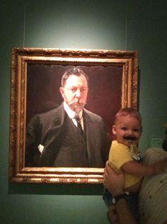 Bigotudos de ayer y hoy en el Museo de Bellas Artes de Valencia. http://museobellasartesvalencia.gva.es/