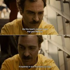 Her (2013) directed by Spike Jonze with Joaquin Phoenix, Amy Adams, Scarlett…