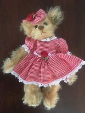 Annette Funicello Mohair Bear Sufficient Supply Bears Dolls & Bears