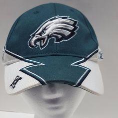 Reebok NFL Philadelphia Eagles Hat  Team Logo  Green White Strapback #Reebok #PhiladelphiaEagles