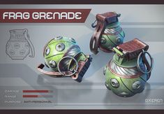 Frag Grenade by Oxeren on deviantART