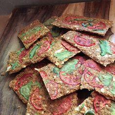 Raw Vegan Flax Onion Artisan Crackers -let's make them :)