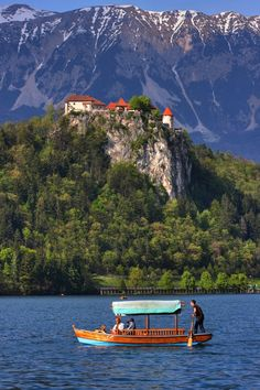Lake Bled, Slovenia Have done this twice. Such a beautiful place. All of Slovenia is beautiful!
