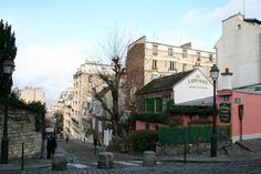 Au Lapin Agile Cabaret in Paris: Au Lapin Agile: The Pink Cottage in Montmartre