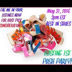 Co hosting my first posh party Come follow me! Other